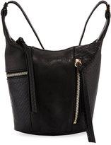 Kooba Prescott Mini Asymmetric Crossbody Bag, Black