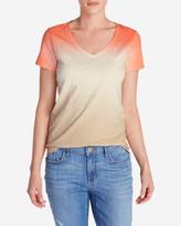 Eddie Bauer Women's Gypsum Dip Dye T-Shirt