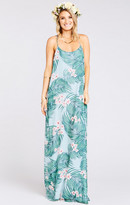 MUMU T-Rex Maxi Dress ~ Hanalei Dream