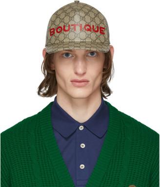 Gucci Beige GG Boutique Cap