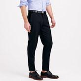 Ludlow Unhemmed classic suit pant in Italian wool