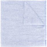 Corneliani striped scarf - men - Linen/Flax/Silk - One Size