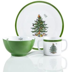 Spode Christmas Tree 3-Pc. Kids Melamine Set