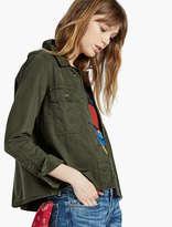 Lucky Brand Military Shirt Jacket