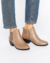 Call it SPRING Lupica Laser Cut Chelsea Boots