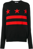 Givenchy Printed Wool Sweater