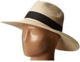 Hat Attack Fine Braid Continental 2 Black Inset Trim Caps