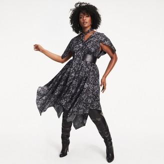 Tommy Hilfiger Zendaya Curve Zodiac Print Maxi Dress