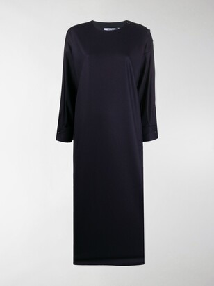 Max Mara Long Loose-Fit Dress