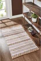"""Thumbnail for your product : Seventh Studio Leah Stripe Flatweave Scatter Rug - 27"""" x 45"""""""