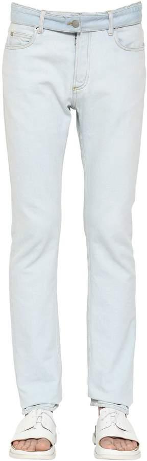 Maison Margiela 18cm Slim Fit Cotton Denim Jeans