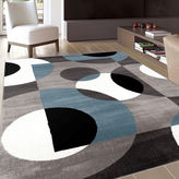 Asstd National Brand Alpine Circles Rectangular Rug