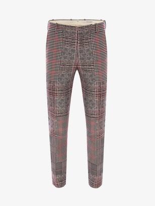 Alexander McQueen Patchwork Prince of Wales Pants