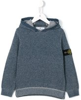Stone Island Junior - knitted hoodie - kids - Cotton/Viscose/Cashmere/Polyimide - 8 yrs