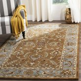 Safavieh Heritage Collection HG812A Handmade and Blue Wool Area Rug, 3 feet by 5 feet