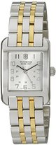 Victorinox V24168 Women's Swiss Army Quartz Silver Dial Watch