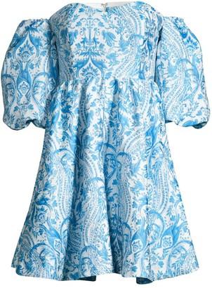 Mestiza New York Poco Poof Tapestry Mini Dress