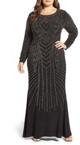 Xscape Evenings Plus Size Women's Embellished Gown