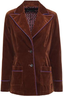 Etro Cotton-blend Corduroy Blazer