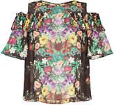 Aula floral print blouse
