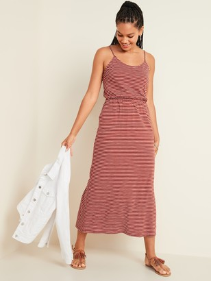 Old Navy Waist-Defined Slub-Knit Cami Maxi Dress for Women