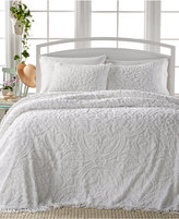 Victoria Classics Allison White Tufted 3-Pc. King Bedspread Set
