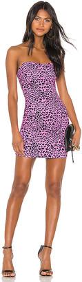 LIKELY Mini Leopard Laurens Dress