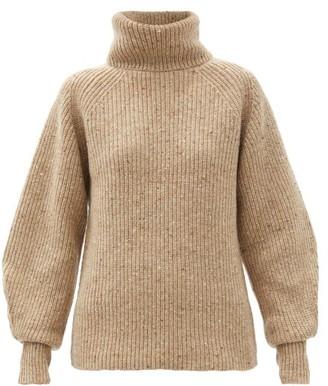 Altuzarra Merle Roll-neck Wool-blend Sweater - Beige