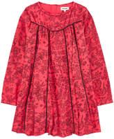 Zadig & Voltaire Graphic crepe dress