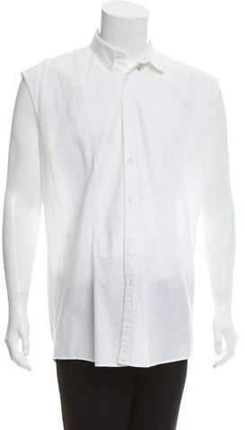 Balmain Tuxedo Button-Up Shirt