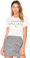 Spiritual Gangster Exhale Only Love Tee in White. - size M (also in S,XS)
