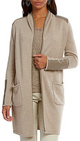 Sigrid Olsen Signature Sweater Topper Cardigan