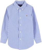 Ralph Lauren Striped poplin shirt