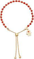 Astley Clarke Hamsa kula 18ct yellow gold-plated friendship bracelet