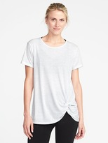Old Navy Ultra-Light Knot-Hem Tee for Women