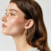 Warehouse Chunky Hoop Earring