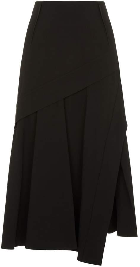 Sportmax Panelled Midi Skirt