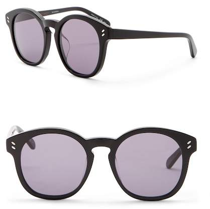 Stella McCartney 50mm Round Sunglasses