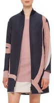 Akris Punto Women's 'Coastal Chart' Reversible Jacquard Coat