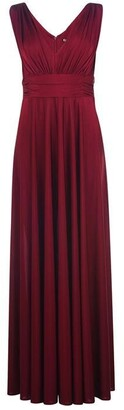Biba Deep V Maxi Dress