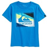 Quiksilver Toddler Boy's Box Knife Logo T-Shirt