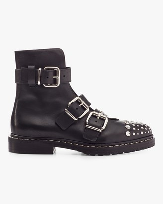 McQ Fate Buckle Ankle Boot