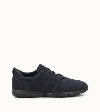 Tod's Sneakers in Suede and High Tech Fabric