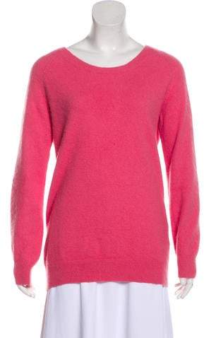 Acne Studios Scoop Neck Long Sleeve Sweater