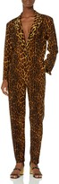 Thumbnail for your product : Norma Kamali Women's Single Breasted Tapered Leg Jumpsuit