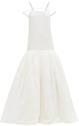 Jacquemus Amour Mermaid-hem Linen Maxi Dress - Ivory