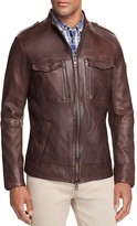 BOSS Orange Jesper Leather Field Jacket