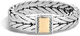 John Hardy Men's Modern Chain 16MM Bracelet in Sterling Silver and 18K Gold