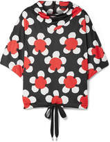 Marc Jacobs Floral-print Jersey Top - Red