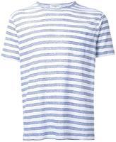 YMC 'Pugsley' T-shirt - men - Linen/Flax - L